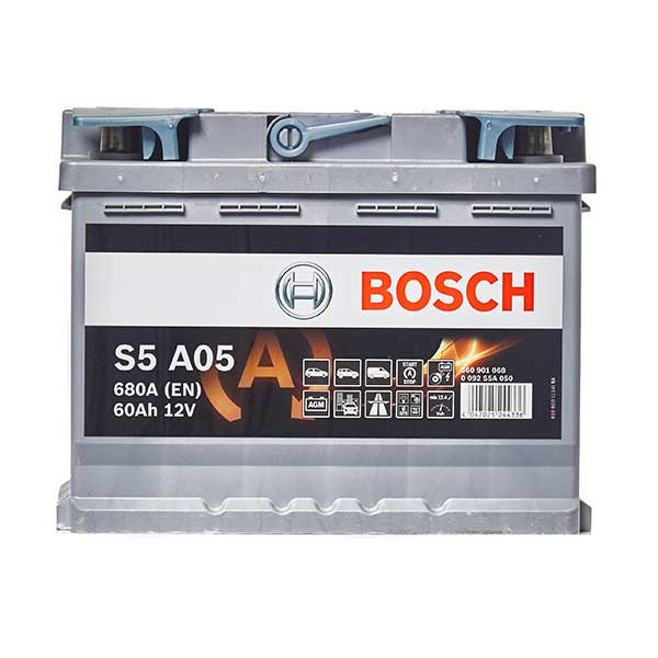 Bosch AGM 027 Car Battery - 3 Year Guarantee