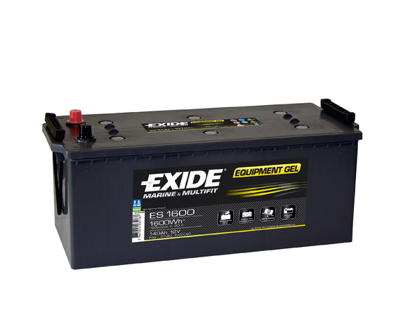 Exide Gel Battery G140 2 Year Guarantee
