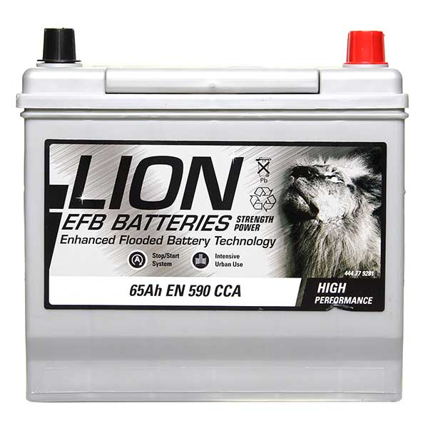 Lion EFB 005 Car Battery - 3 year Guarantee