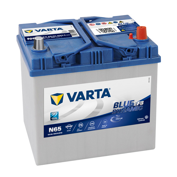 Varta EFB 005 Car Battery - 3 Year Guarantee