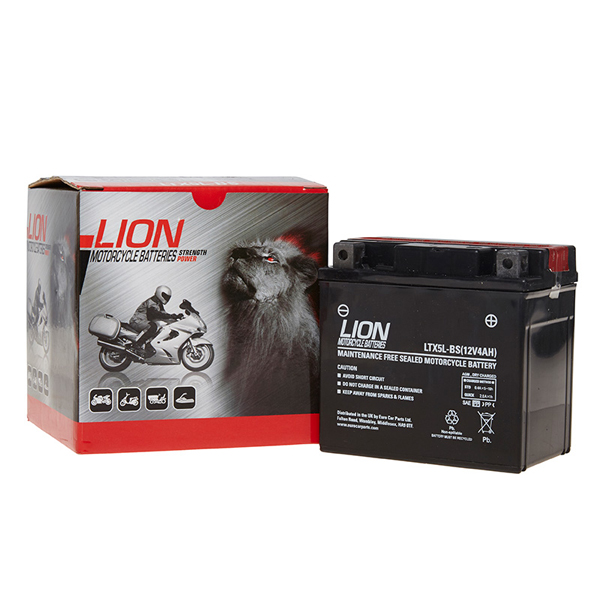 Lion Motor Cycle Battery (LTX5L-BS)