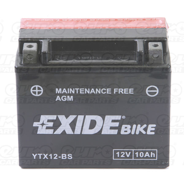 Exide ETX12-BS Motorcycle Battery