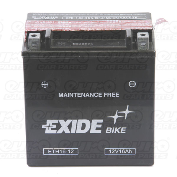 Exide ETX16-BS Motorcycle Battery
