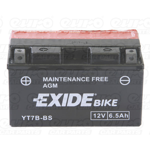 Exide ET7B-BS Motorcycle Battery