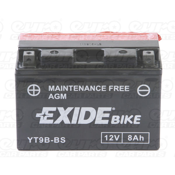 Exide ET9B-BS Motorcycle Battery