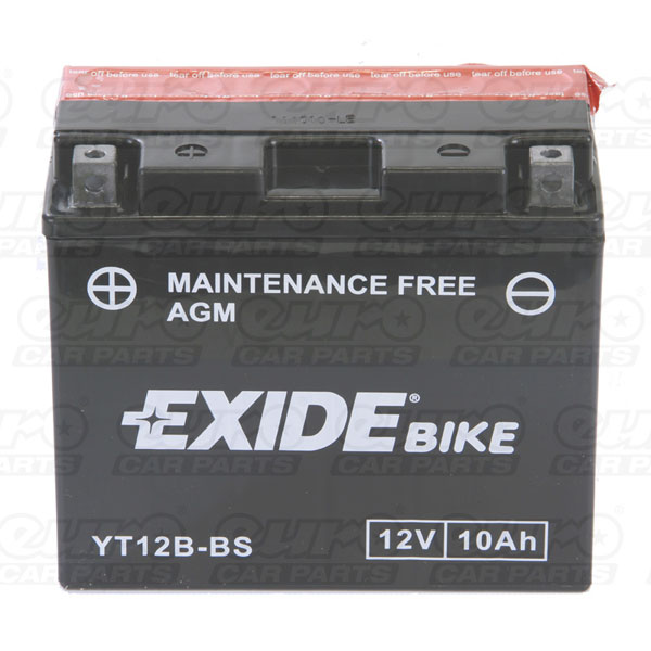 Exide ET12B-BS Motorcycle Battery