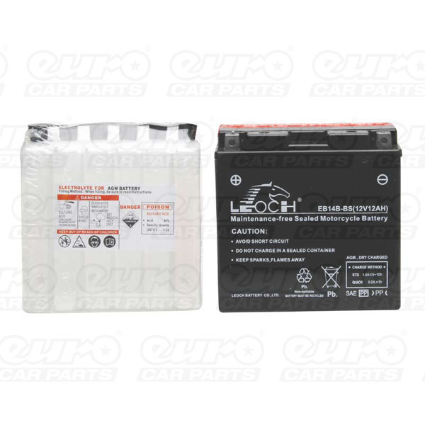 Lion Motor Cycle Battery (EB14B-BS)