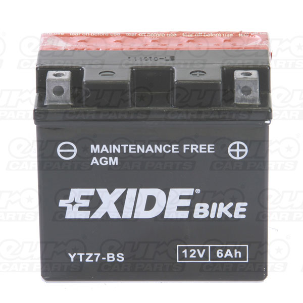 Exide ETZ7-BS Motorcycle Battery