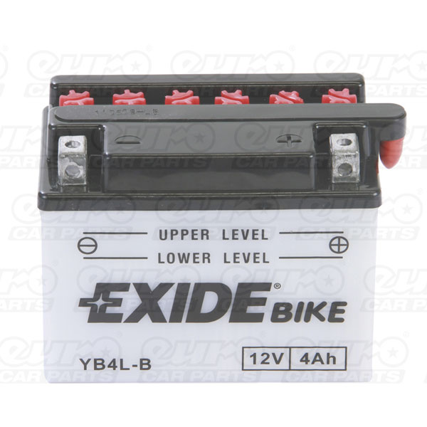 Exide YB4L-B Motorcycle Battery