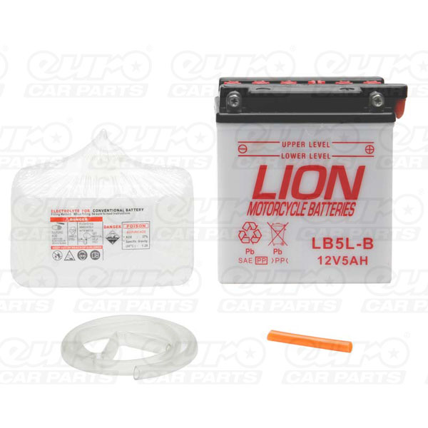 Lion Motor Cycle Battery (LB5L-B)