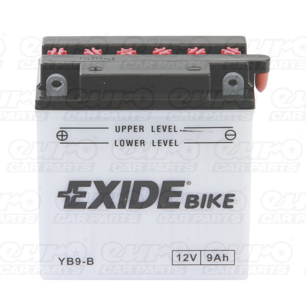 Exide YB9-B Motorcycle Battery