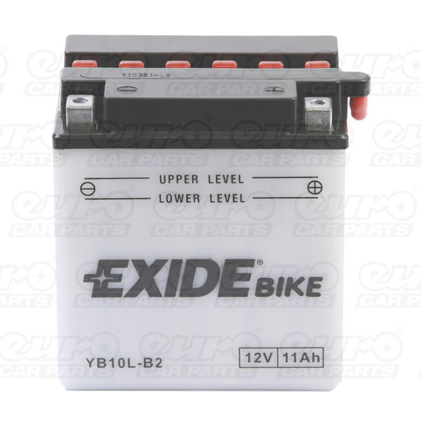 Exide EB10L-B2 Motorcycle Battery