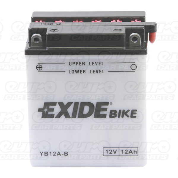 Exide EB12A-B Motorcycle Battery