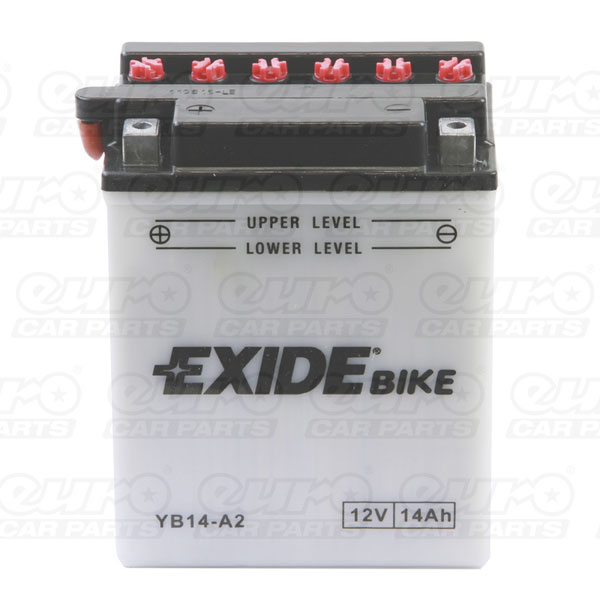 Exide EB14-A2 Motorcycle Battery