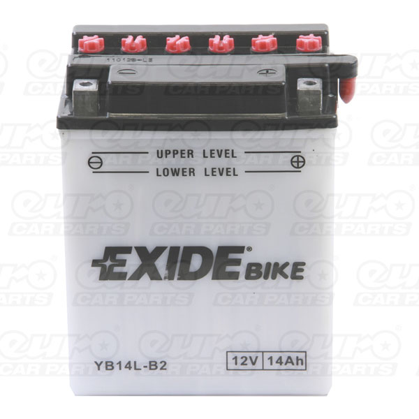 Exide EB14L-B2 Motorcycle Battery