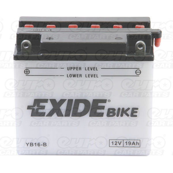 Exide YB16-B Motorcycle Battery