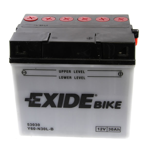 Exide E60-N30L-B Motorcycle Battery