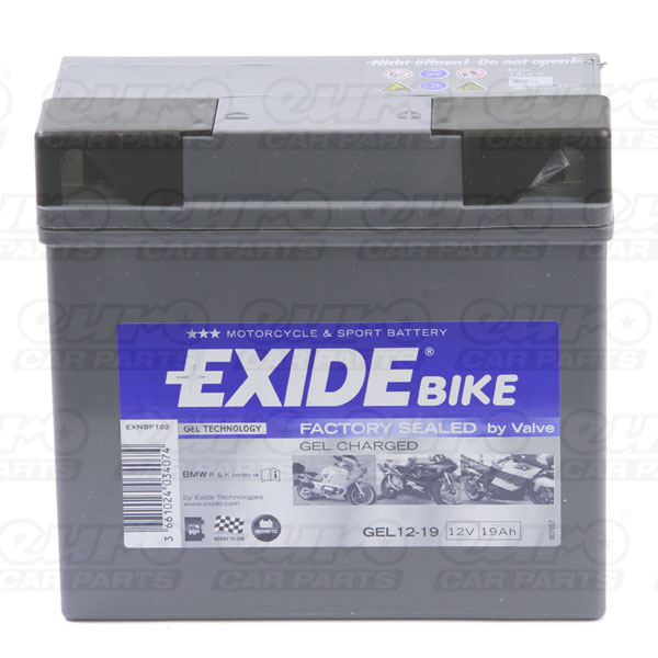 Exide GEL12-19 Motorcycle Battery