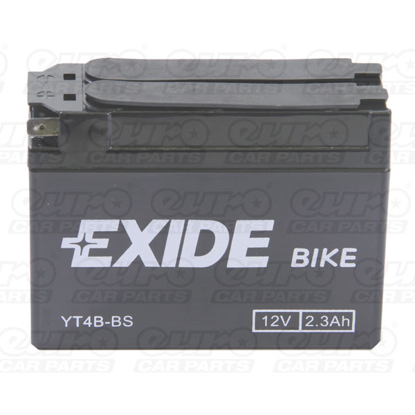 Exide Motor Cycle Battery (YT4B-BS)