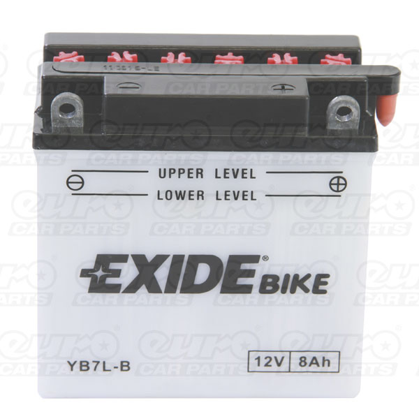 Exide EB7L-B Motorcycle Battery