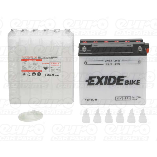 Exide EB16L-B Motorcycle Battery