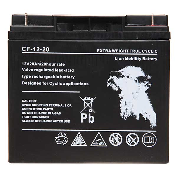 Lion VRLA 12V 20AH Sealed Battery (Threaded)
