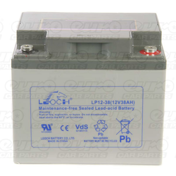 Leoch VRLA Sealed Battery - 12V 40Ah