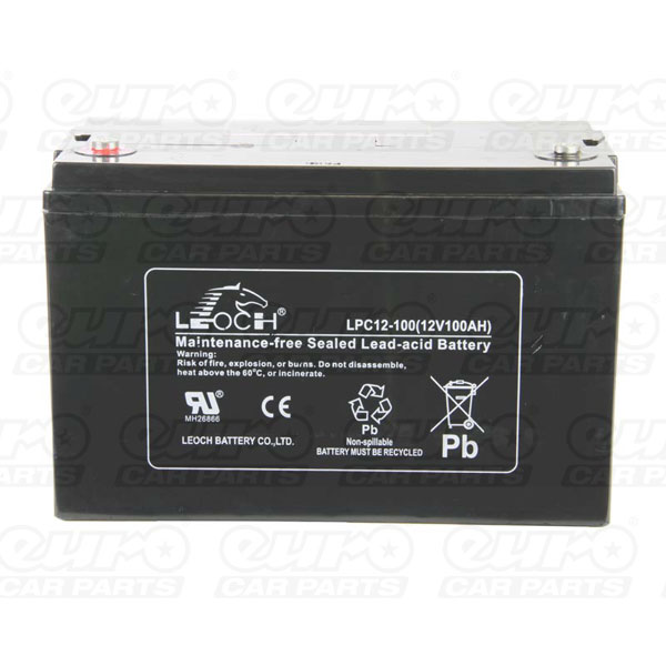 Leoch VRLA Sealed Battery - 12V 100Ah