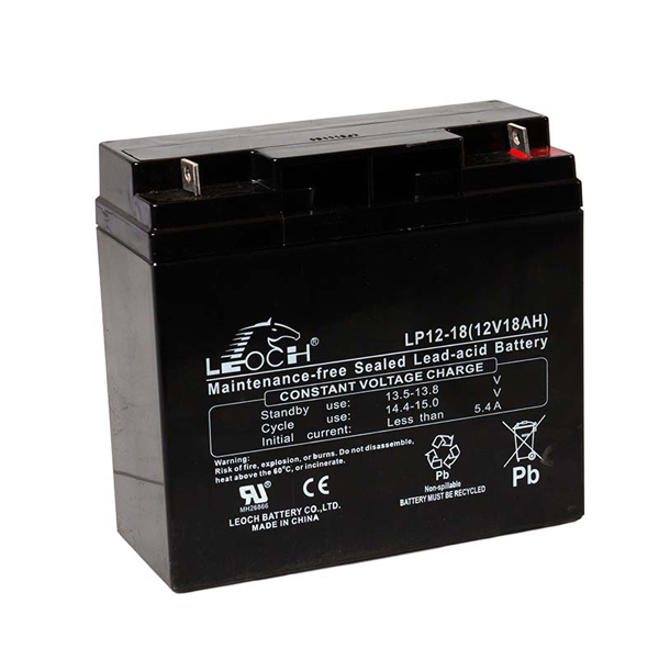 Leoch VRLA Sealed Battery 12V 18AH (Spade)