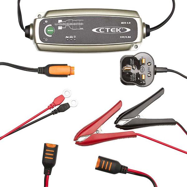CTEK MXS3.8 Smart Battery Charger & Conditioner