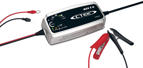 CTEK MXS7.0 Smart Battery Charger & Conditioner
