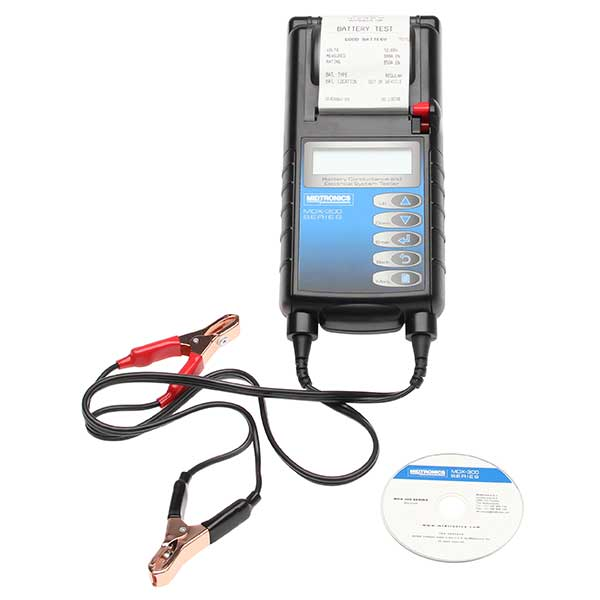 Midtronics Mdx335P Battery And Electrical System Tester With Printer