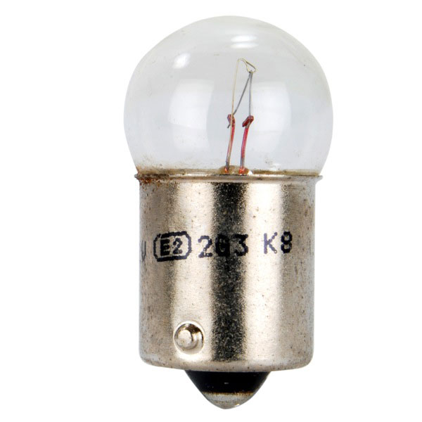 Lucas 207 Single Filament Bulb - 12v 5w