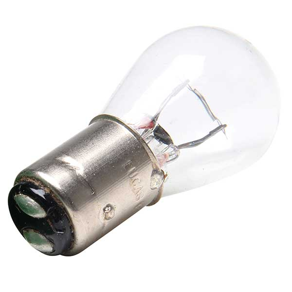 Lucas 380 Twin Filament Light Bulb - 12v 21w