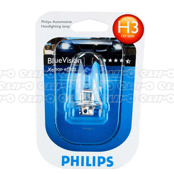 Philips Blue Vision H3 453 Bulb (single)