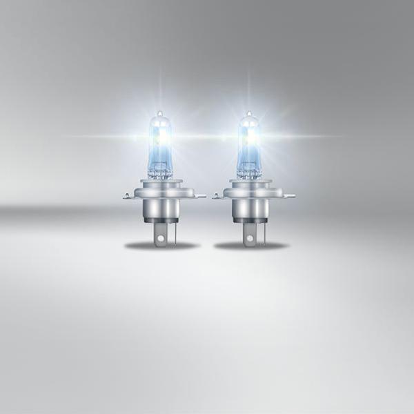Osram Night Breaker Laser H4 headlight bulbs +200% more brightness - Twin Pack