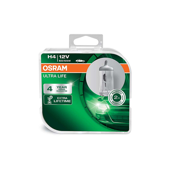 Osram Ultra Life H4 (472) Twin Pack