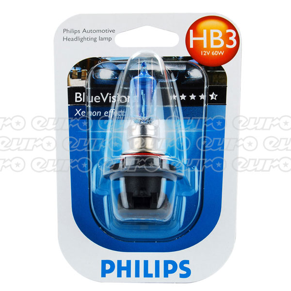 Philips Blue Vision HB3 9005 Bulb (Single)