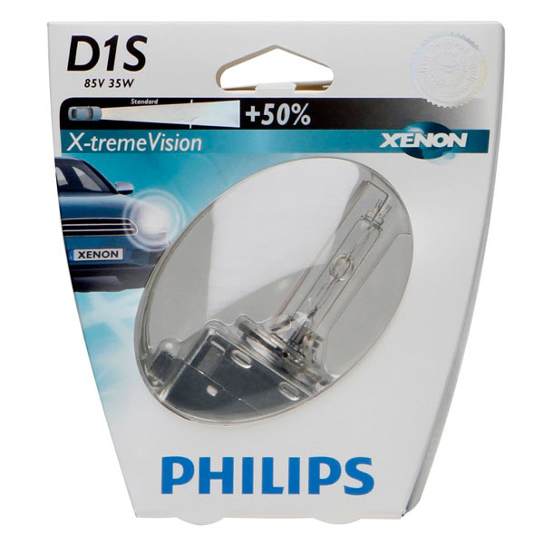 Philips Xtreme Vision D1s Gen2 Xenon Bulb 4800k Single Euro Car