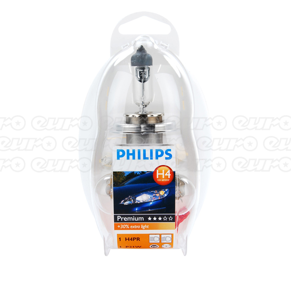 Philips H4 Spare Bulbs Kit