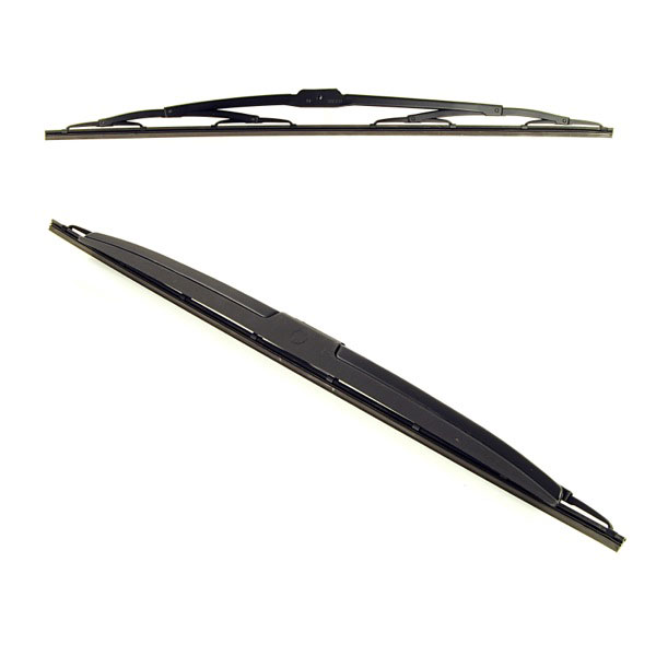 Bosch Super Plus Specific Wiper Blade Set Sp24/24B With Spoiler On Rh Side