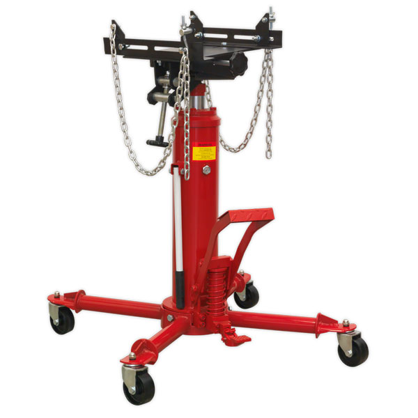 Sealey 500TTJ Transmission Jack Yankee 0.5ton Vertical Telescopic