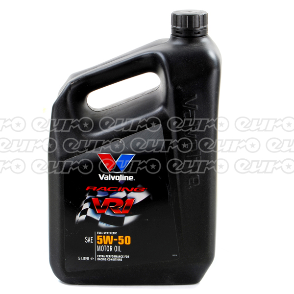 Valvoline VR1 Racing Fully-Synthetic 5W50 Engine Oil (5 Litre)