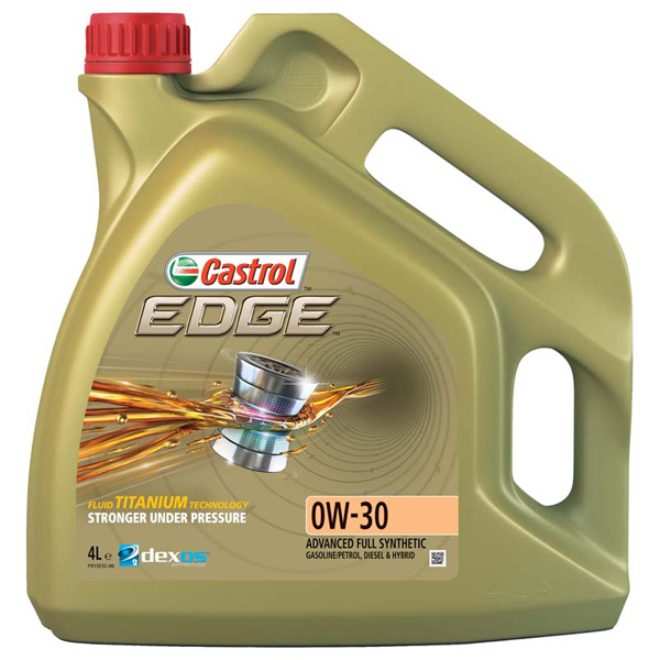 Castrol Edge 0W-30 With Titanium FST Fully Synthetic 4Ltr