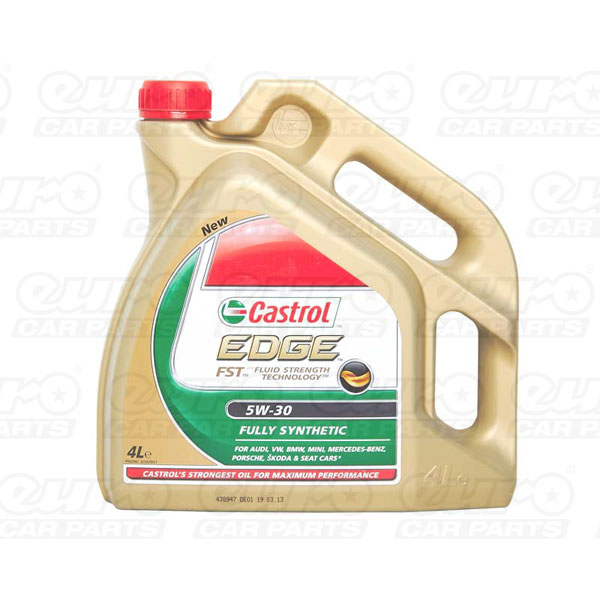 Castrol Edge FST Fully Synthetic 5W30 Engine Oil (4 Litre)