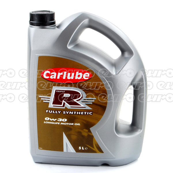 Carlube Triple R 0W30 Long Life Fully Synthetic Engine Oil (5 Litre)