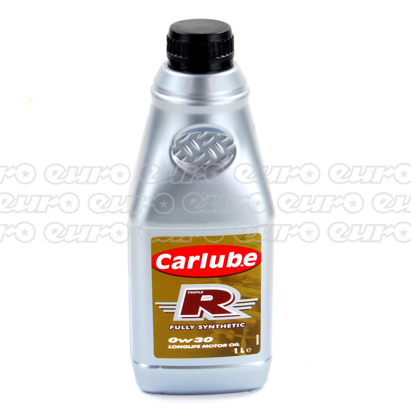 Carlube Triple R 0W30 Long Life Fully Synthetic Engine Oil (1 Litre)