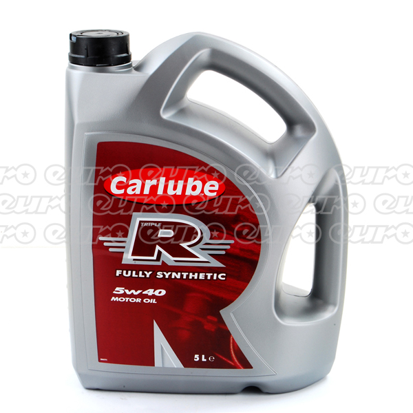 Carlube Triple R 5W40 Fully Synthetic Engine Oil (5 Litre)