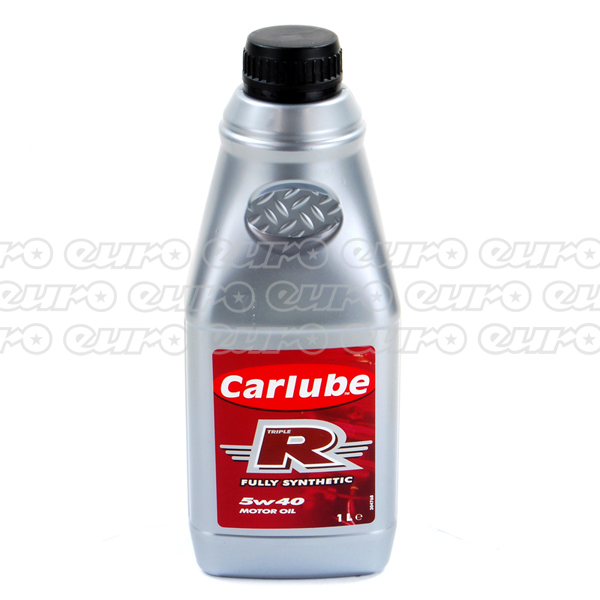 Carlube Triple R 5W40 Fully-Synthetic Engine Oil (1 Litre)