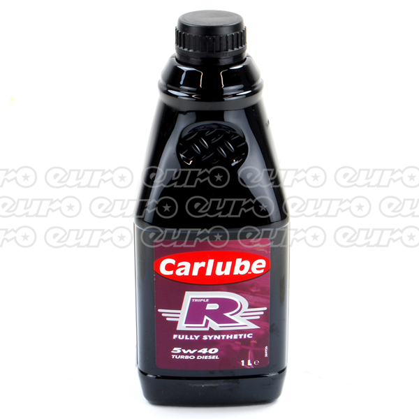 Carlube Triple R 5W40 PD Fully Synthetic Diesel Engine Oil(1 Litre)